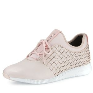 Cole Haan StudioGrand woven trainer in lilac